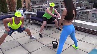 Fitness hot ass hot cameltoe 96