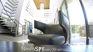 petite babysitter whore with dildo busted by boss