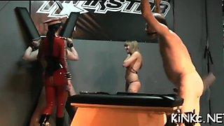 defloration of kinky slut fisting segment 2