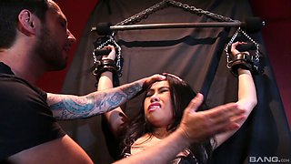 Magical BDSM action with amazing Cindy Starfall and her fella