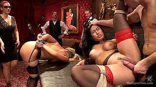 Bill Bailey & Carter Cruise & Mia Li in Dick Games - TheUpperFloor