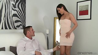 Horny pornstars Eva Strauss, Marc Rose in Exotic Romantic, Cumshots porn scene