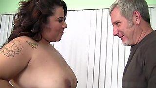 Horny pornstar in hottest tattoos, big tits xxx scene