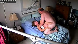Hot amateur wife enjoys the pussy drilling action on the bed