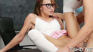geek girl gets fucked teen segment 5