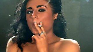 smoking fetish goddess