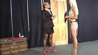 Blonde Slave Toy Fucked