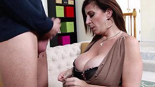 Horny milf like her sex