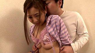 Incredible Japanese slut in Amazing Wife, HD JAV movie
