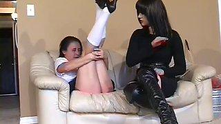 spanking new girl