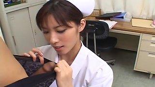 Riko Tachibana Nurse Care Is Oral Care