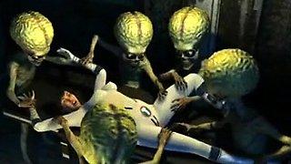 3d aliens fucked girl