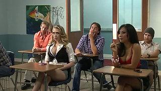 nice girl has sex with the teacher