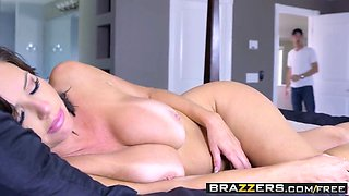 brazzers - mommy got boobs - napping naked scene starring ve