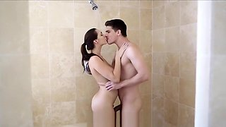 PornPros Hot Shower turns into hot fuck