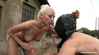 Lorelei Lee & Ivo in Eastern European Expeditions # 2: Teased And Denied Euro Slave Cock - DivineBitches