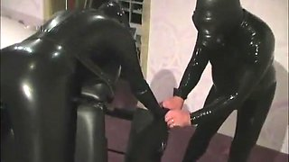 Incredible homemade Fetish, Latex sex movie
