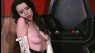 Mistress Nicolette Suffocates a Gorgeous Lesbian Sex Slave