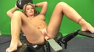 Brooke Haven Vs Fucking Machine