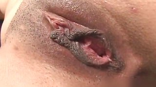 Horny arab whore getting her wet cunt part1