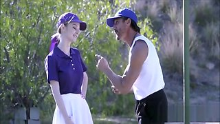 Two Competitive Dads Swap Fuck Tennis Playing Teen Step Daughters Foursome