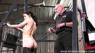 elise serious needle slave bdsm and punish artistic