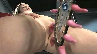Many Fucking Machines Are Going To Make This Babe Cum Repeatedly