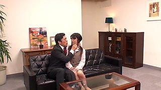 Fabulous Japanese girl Hikaru Ayuhara in Exotic Oldie, Cunnilingus JAV clip