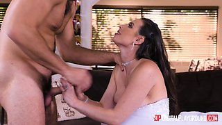 Casey Calvert is a cock craving bride ready to be ravished