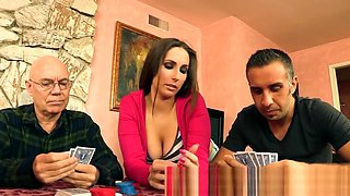 Brazzers - Paige Turnah cheats in cards and on her husband