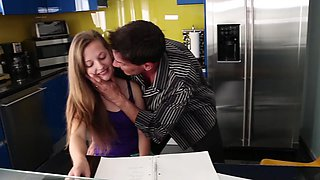 Hardcore porn with step daddy for young Marissa Mae