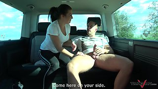 Veronika finally agrees to bang with a stranger in the car