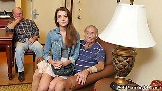 Teen girl seducing older man Introducing Dukke