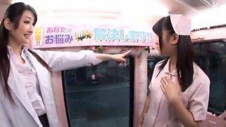 Best Japanese chick Tsumugi Serizawa, Azumi Mizushima, Nana Usami in Crazy Fetish, Handjob JAV movie