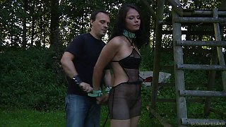 Hard punishment for a slave