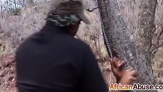 slender african bitches got their cunts abused hard