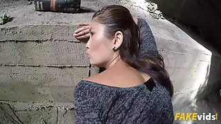 miyuki son in outdoor sex under a railway bridge