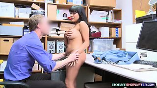 Aryana gets punished and fucked by Officer