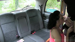 Woman Fucked In Her Pierced Clit Pussy By Fake Driver