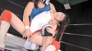 sex wrestling fight