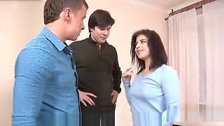 Dirt Poor Stud Allows Frisky Buddy To Pound His Ex-girlfrien