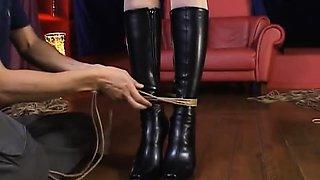 Yuri Matsushima Pregnant race queen in bondage