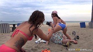 Bikini-Clad Porn Star Enjoying A Hardcore Cowgirl Style Fuck In Her Bedroom