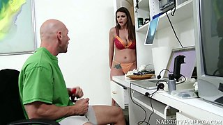 Brooklyn Chase Johnny Sins in My Neighbours Hot Friend