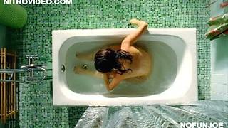 Spanish Celeb Ana De La Reguera Naked in the Bathtub - Hot Movie Scene