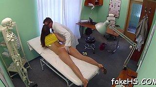 massive dong bangs doctors pussy feature segment 2