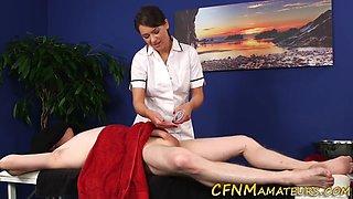 hot amateur nurse sucks dick