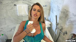 Milf With Big Tits Gets Some Milk