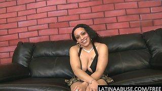 Latina Abused slut Nena interviewed