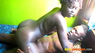 Real african boy and girl fuck first time